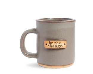 MUDLOVE BE THE CHANGE MUG from Sidney Flower Shop in Sidney, OH