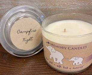 "CANDLE  ""CAMPFIRE NIGHTS"" from Sidney Flower Shop in Sidney, OH"