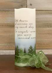 SYMPATHY CANDLE from Sidney Flower Shop in Sidney, OH