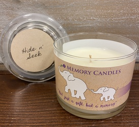 "CANDLE ""HIDE N' SEEK"" from Sidney Flower Shop in Sidney, OH"