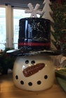 Snowman Cookie Jar from Sidney Flower Shop in Sidney, OH