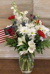 RED, WHITE, AND YOU from Sidney Flower Shop in Sidney, OH