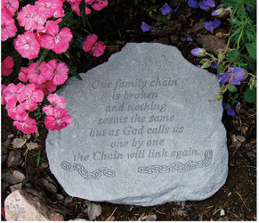 GARDEN SAYING STONE from Sidney Flower Shop in Sidney, OH