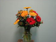Gerbera Daisy Vased from Sidney Flower Shop in Sidney, OH