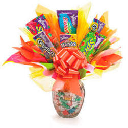 SWEET CANDY BOUQUET from Sidney Flower Shop in Sidney, OH