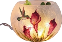 Rd. Lighted Hummingbird vase from Sidney Flower Shop in Sidney, OH