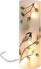 Lg round Glass Bird lighted Vase from Sidney Flower Shop in Sidney, OH