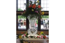 Ice Sculpture Arrangement from Sidney Flower Shop in Sidney, OH