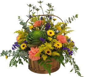 RUSTIC BASKET from Sidney Flower Shop in Sidney, OH