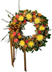 SYMPATHY WREATH from Sidney Flower Shop in Sidney, OH