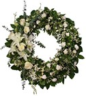 A wreath to say