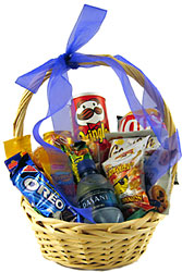 Junk Food Junkie Basket from Sidney Flower Shop in Sidney, OH