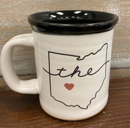 "MUDLOVE MUG ""LOVE OHIO"" from Sidney Flower Shop in Sidney, OH"